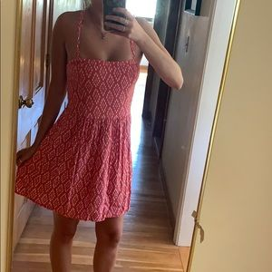 Abercrombie & Fitch pinkish red summer dress sizeM
